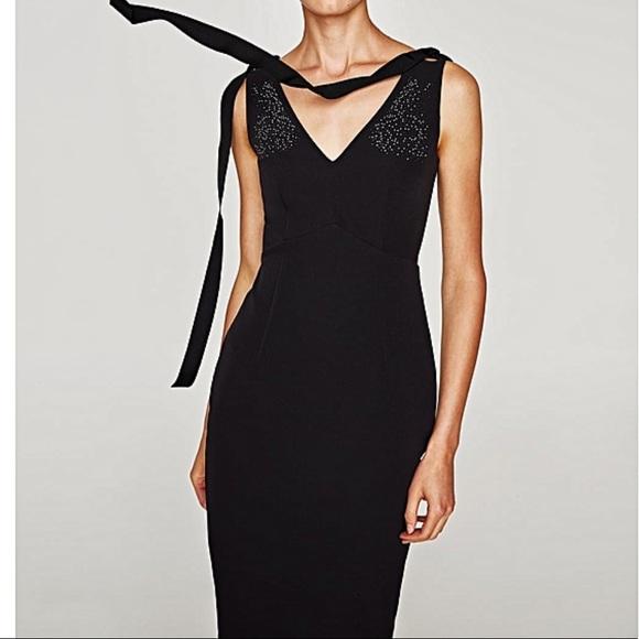 Zara Dresses & Skirts - New ZARA shimmer detail dress